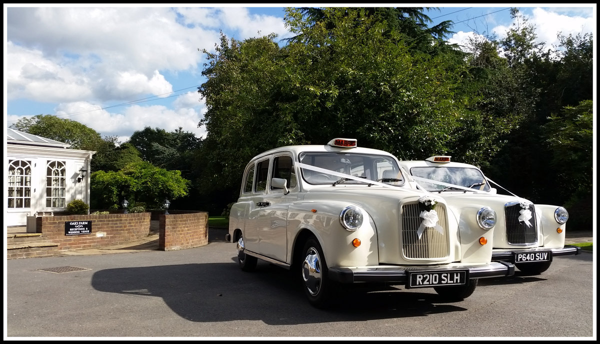 1997 White London Taxi Wedding Car Hire For Hire (picture 3 of 6)