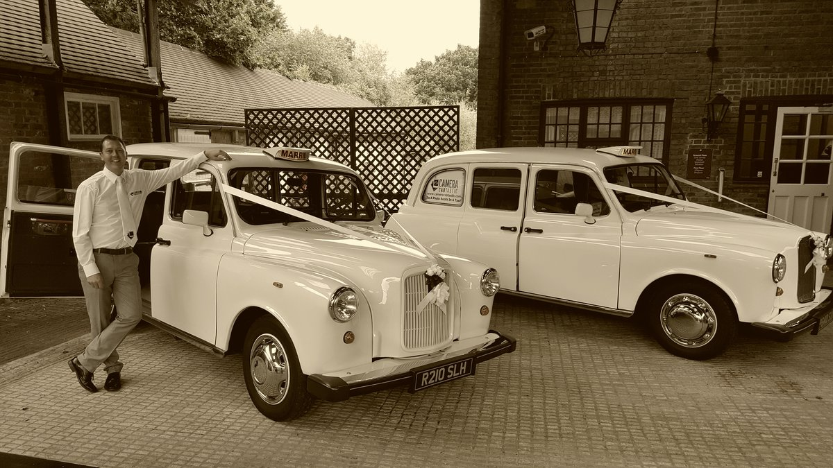 1997 White London Taxi Wedding Car Hire For Hire (picture 5 of 6)