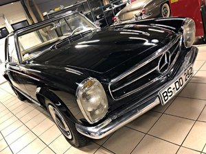 1966 MB 230SL W113 66R project daily driver
