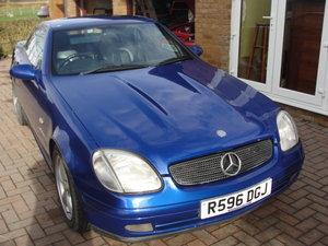 1997 MERCEDES BENZ SLK 230 For Sale