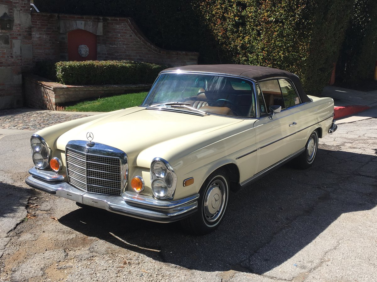 1971 Mercedes-Benz 280SE 3.5 Cabriolet #22811 For Sale (picture 1 of 6)