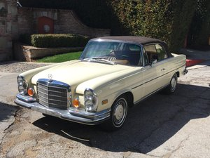 1971 Mercedes-Benz 280SE 3.5 Cabriolet #22811 For Sale