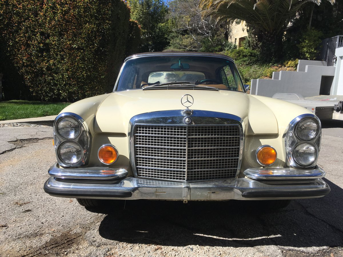 1971 Mercedes-Benz 280SE 3.5 Cabriolet #22811 For Sale (picture 3 of 6)