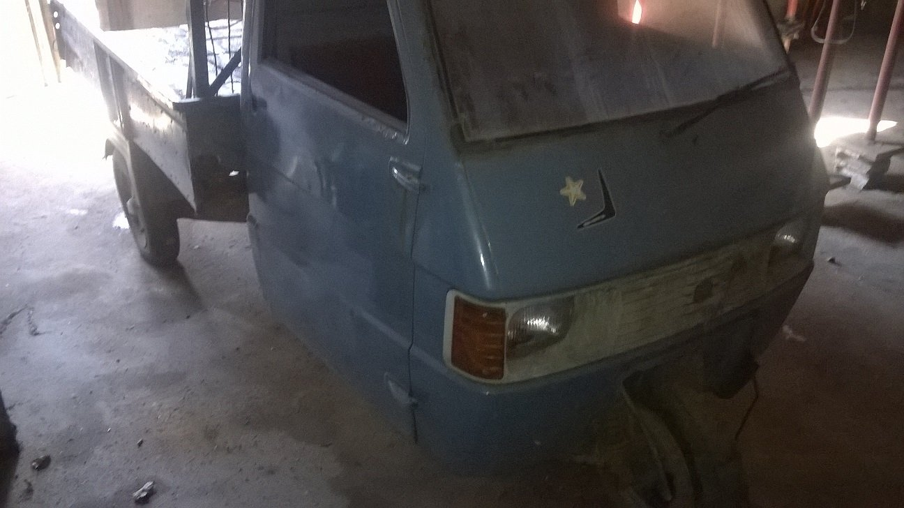 1988 APE PIAGGIO TM 218- HISTORY - TIPPING BOX For Sale (picture 1 of 6)