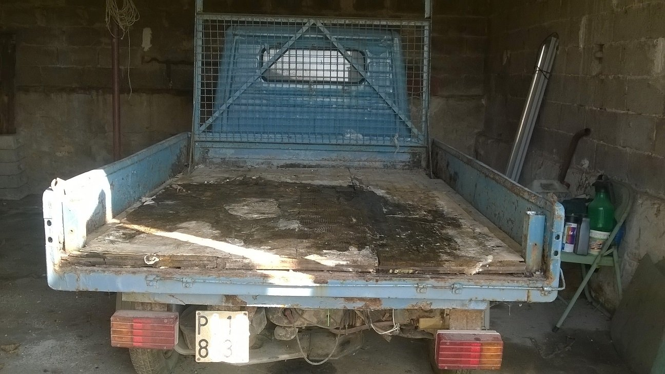 1988 APE PIAGGIO TM 218- HISTORY - TIPPING BOX For Sale (picture 3 of 6)