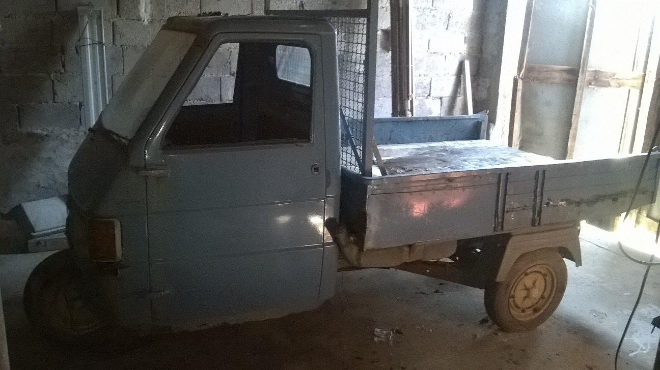 1988 APE PIAGGIO TM 218- HISTORY - TIPPING BOX For Sale (picture 4 of 6)