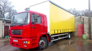 2004 ERF / MAN Lorry Truck 18T Curtain Side For Sale