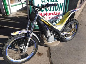 **MARCH AUCTION**Sherco 250 SOLD by Auction