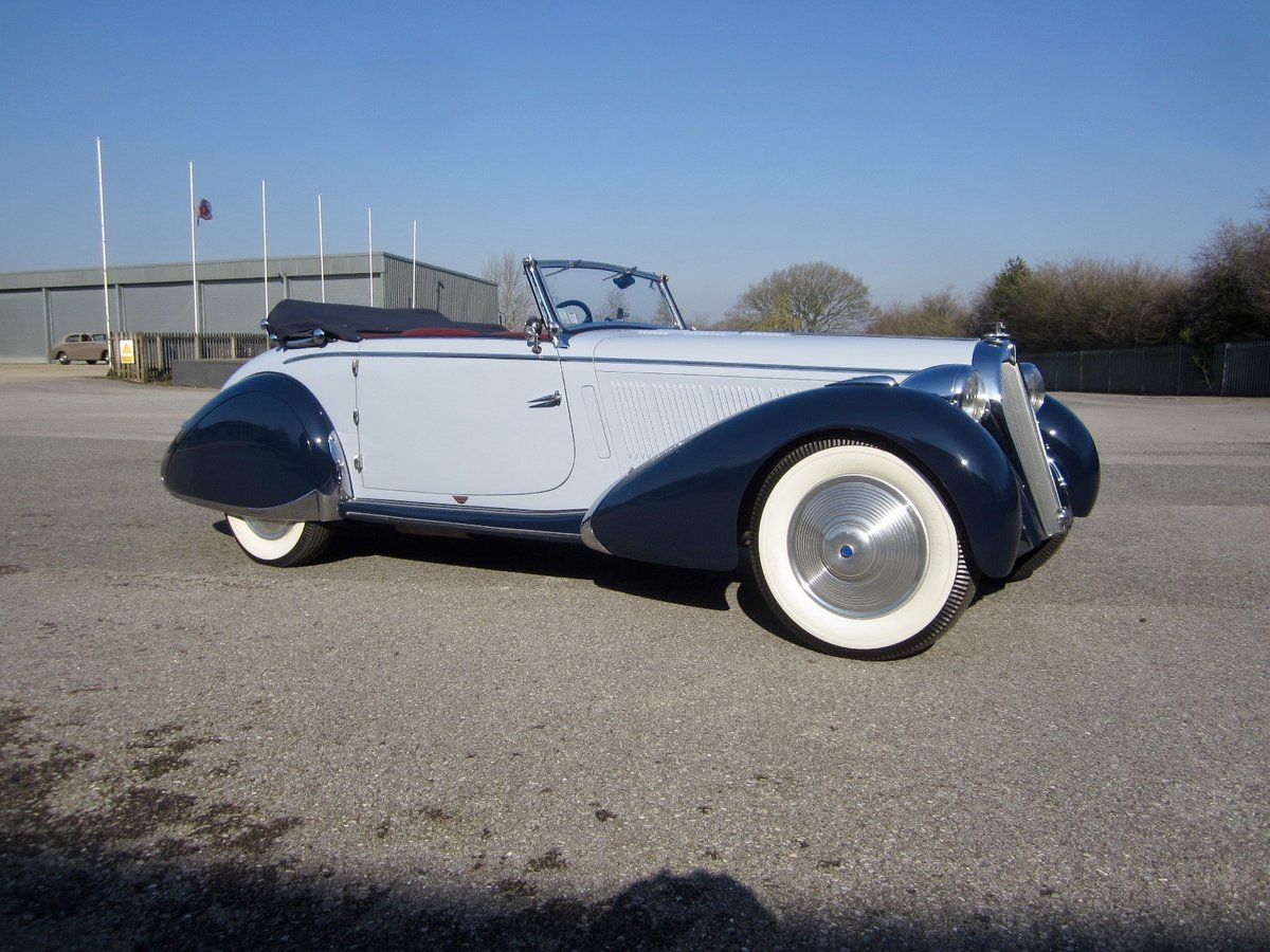 1938 Talbot Lago T23 Roadster For Sale (picture 1 of 6)
