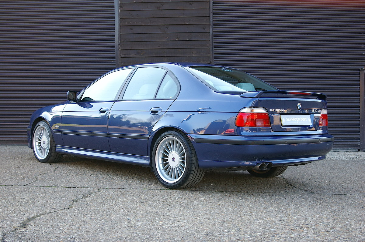 1999 Alpina E39 B10 4.6 V8 Saloon Automatic (34,323 miles) SOLD (picture 3 of 6)