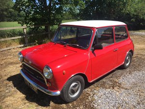 INNOCENTI MINI 1001 - 1972 - UK registered For Sale