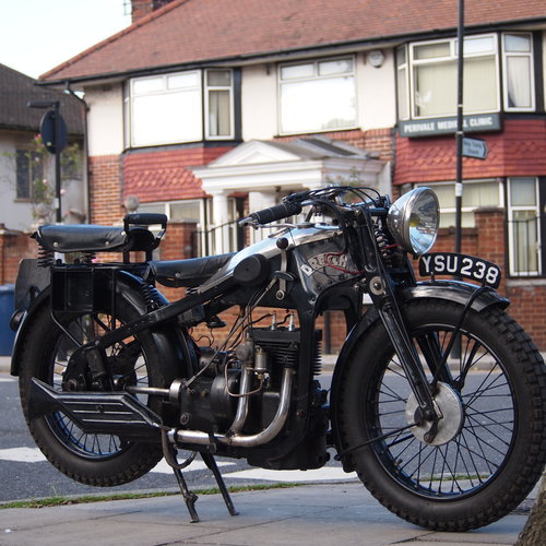 1931 Dresch 500 Monobloc 2 Cylinder, Super Rare. For Sale (picture 4 of 6)