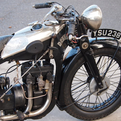 1931 Dresch 500 Monobloc 2 Cylinder, Super Rare. For Sale (picture 5 of 6)