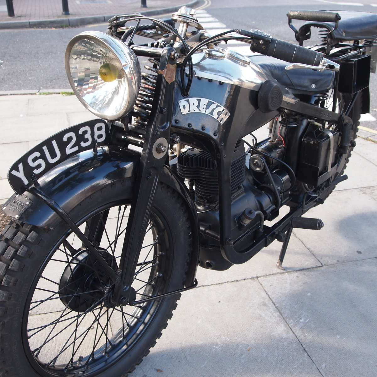 1931 Dresch 500 Monobloc 2 Cylinder, Super Rare. For Sale (picture 1 of 6)
