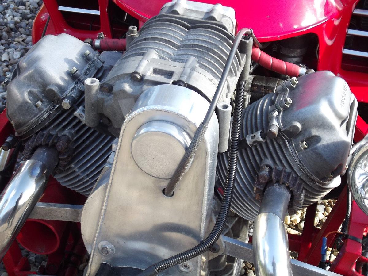 2000 JZR Moto Guzzi 3 wheeler/Morgan evocation SOLD (picture 3 of 6)