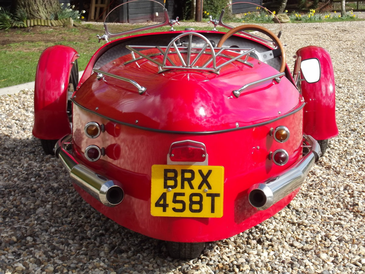 2000 JZR Moto Guzzi 3 wheeler. NOW SOLD - SIMILAR CARS WANTED Wanted (picture 5 of 6)
