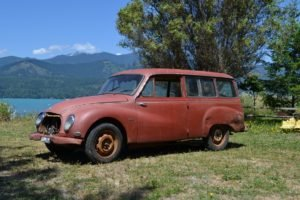 1959 DKW  = Solid Project Rare Wagon Red  $8.5k For Sale