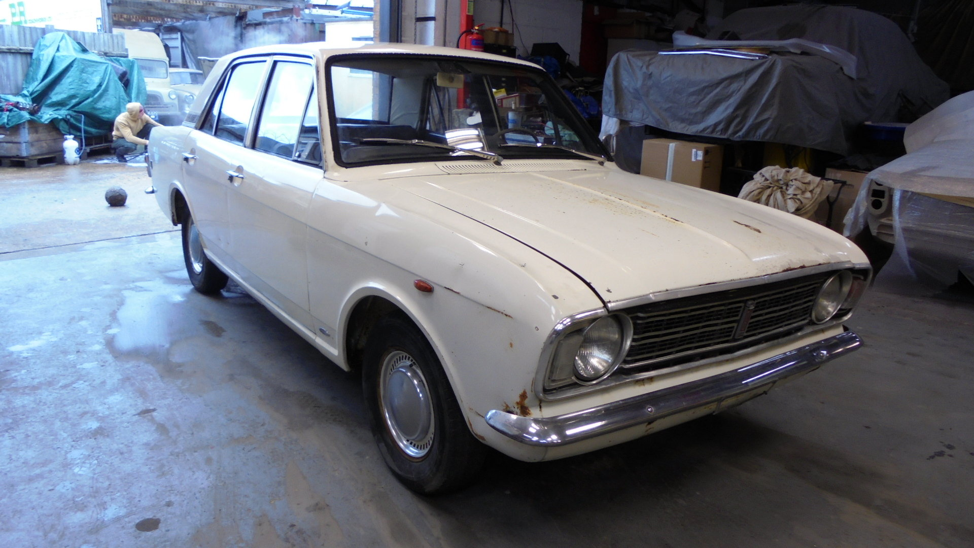 1966 FORD CORTINA MK2 GT 4 DOOR  For Sale (picture 2 of 6)