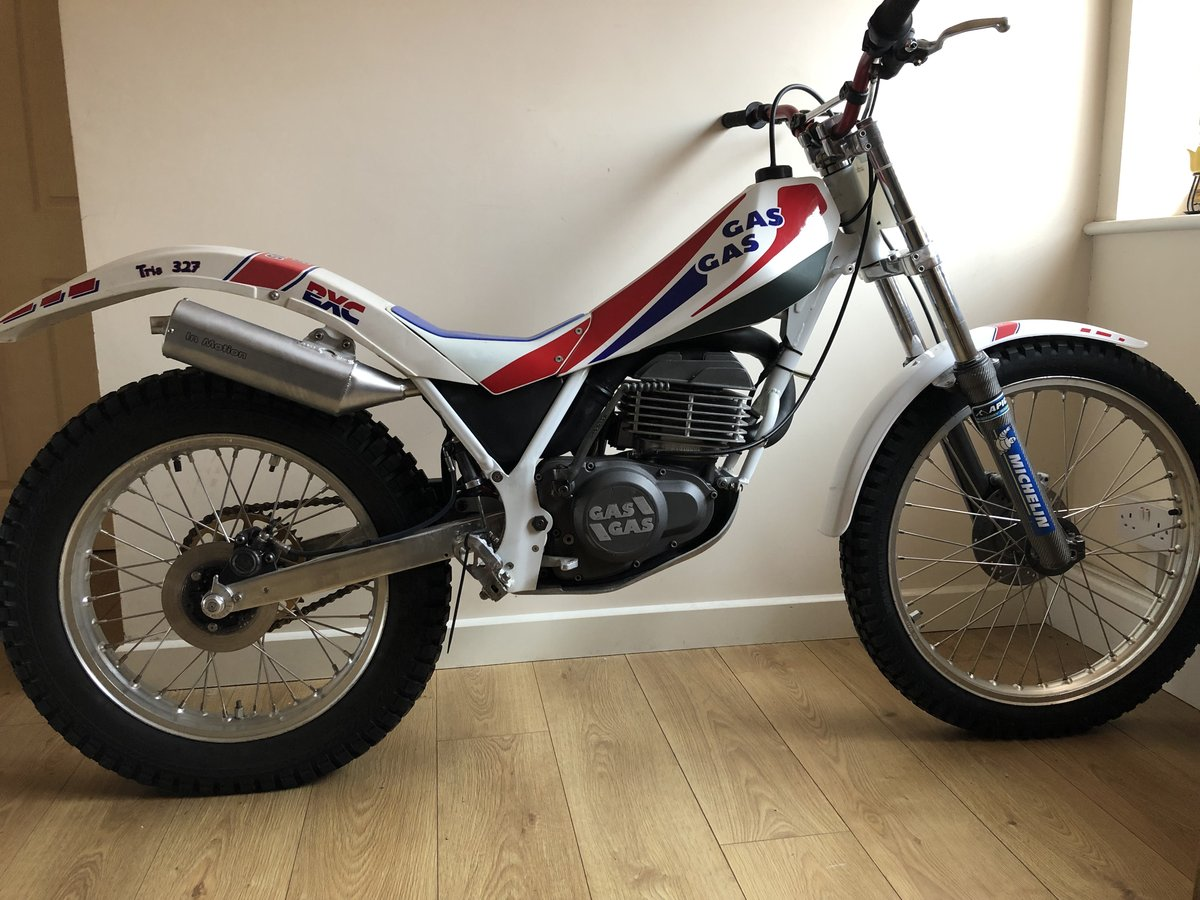 1988 GAS GAS AIRE AIR COOLED MONO MINT RARE TRIALS BIKE £3995 For Sale (picture 1 of 5)