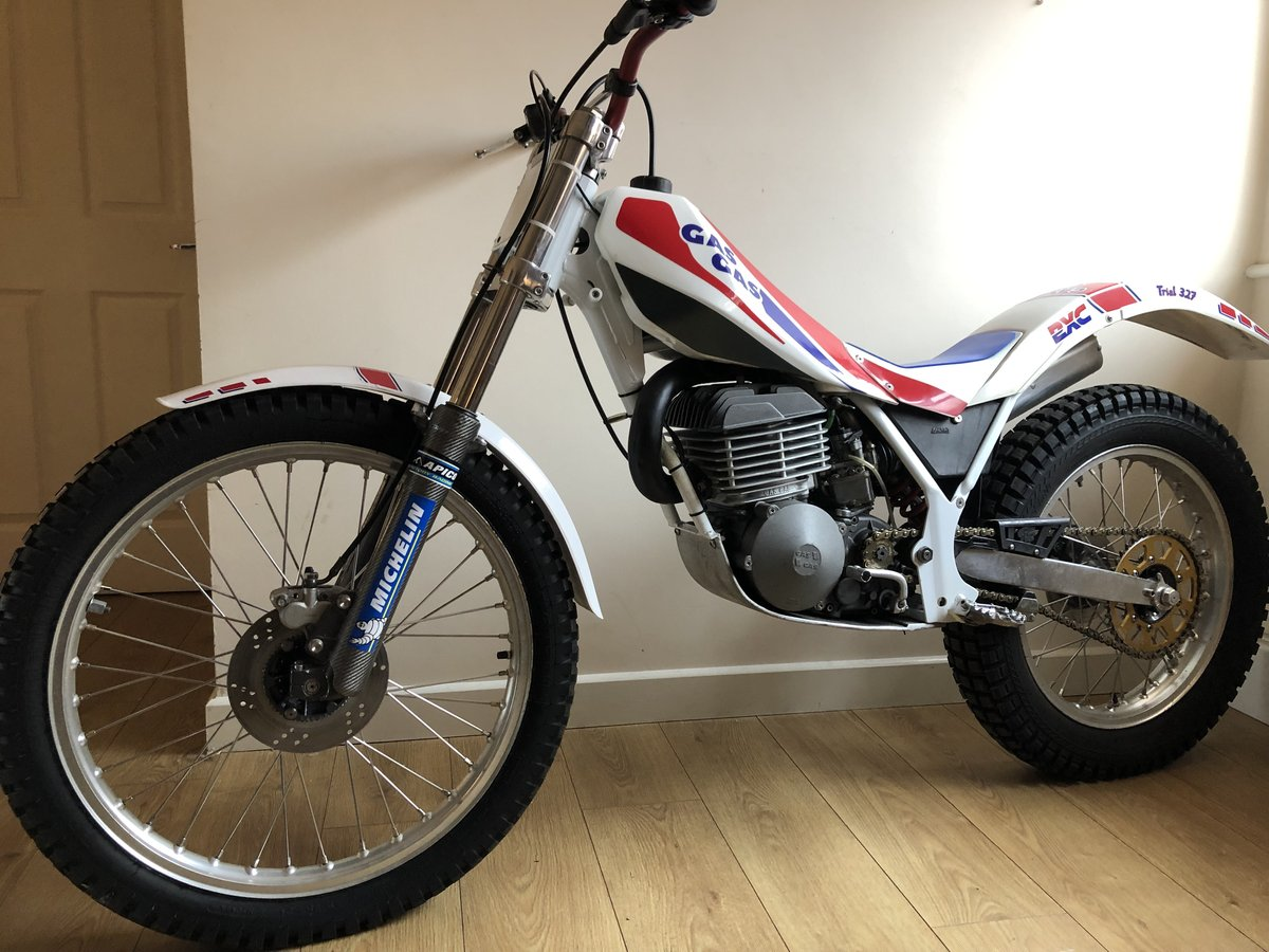 1988 GAS GAS AIRE AIR COOLED MONO MINT RARE TRIALS BIKE £3995 For Sale (picture 2 of 5)