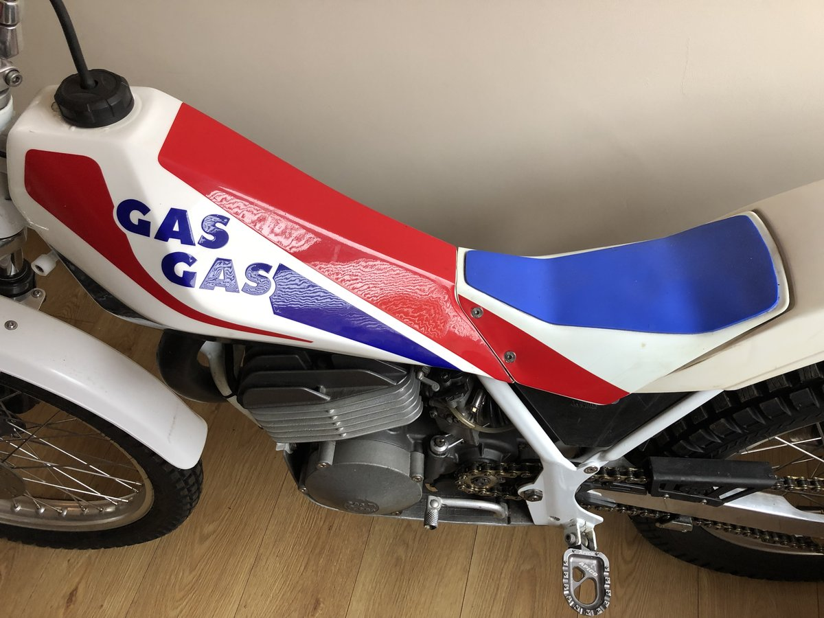 1988 GAS GAS AIRE AIR COOLED MONO MINT RARE TRIALS BIKE £3995 For Sale (picture 3 of 5)