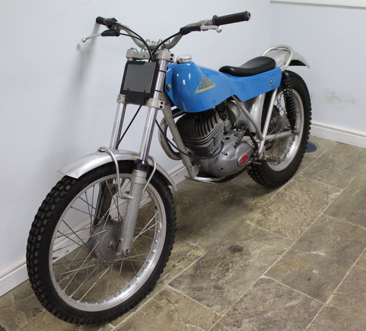 1973 Cotton Cavalier Moto Minarelli Powered 175 Twin Shock For Sale