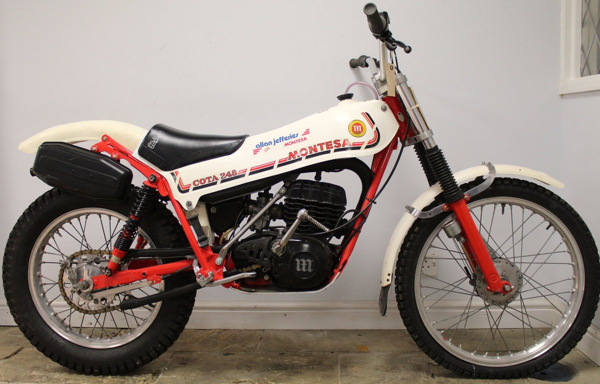 1981 Montesa Cota 248 Twin Shock Trials Bike Excellent  For Sale (picture 1 of 6)