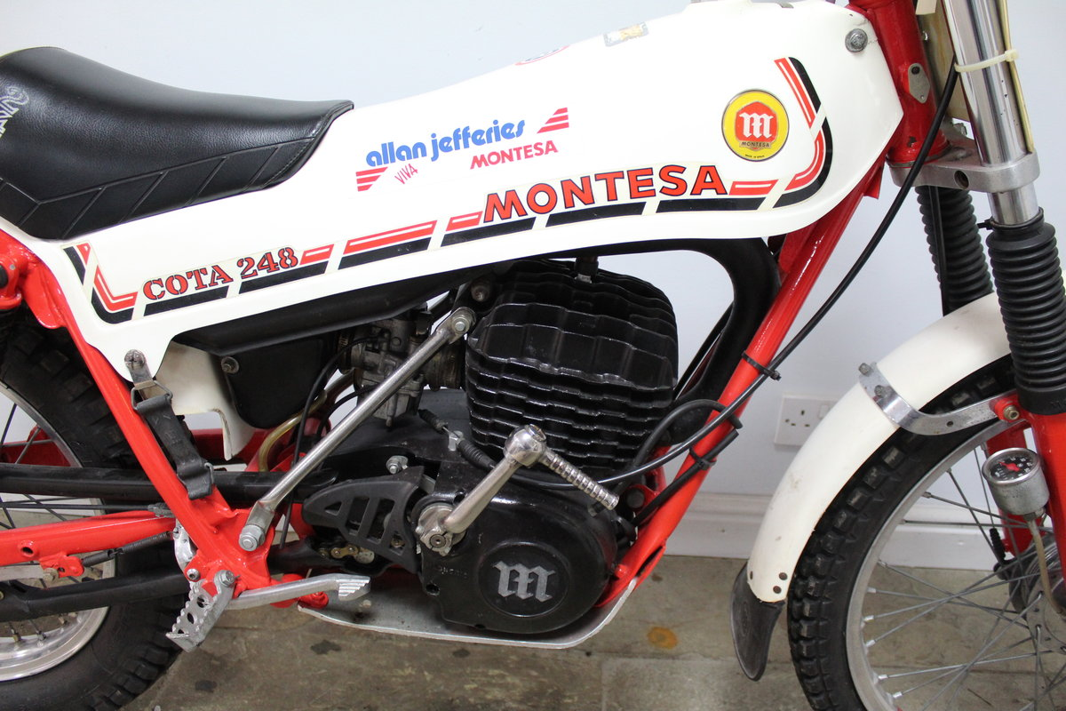 1981 Montesa Cota 248 Twin Shock Trials Bike Excellent  For Sale (picture 2 of 6)