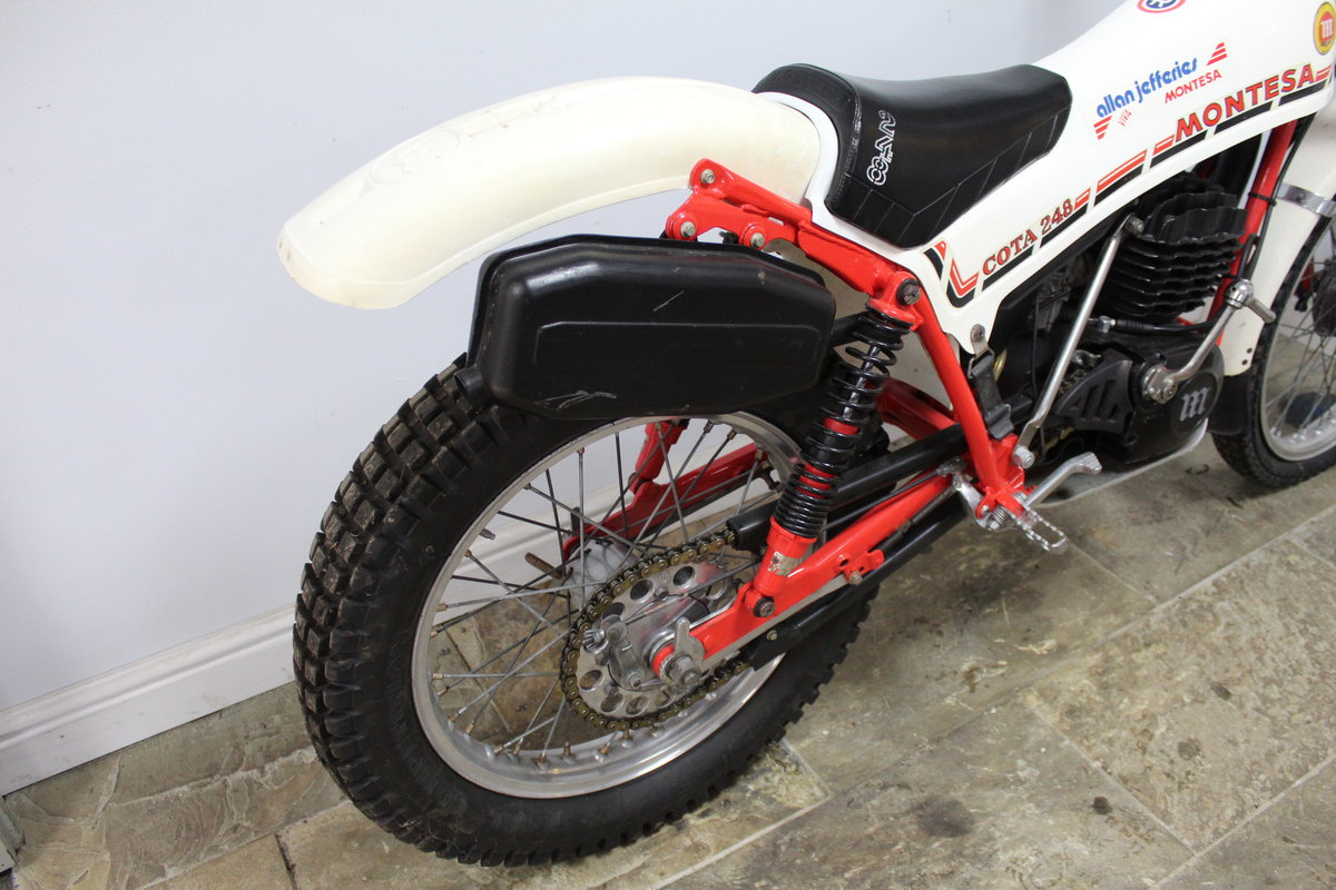 1981 Montesa Cota 248 Twin Shock Trials Bike Excellent  For Sale (picture 3 of 6)