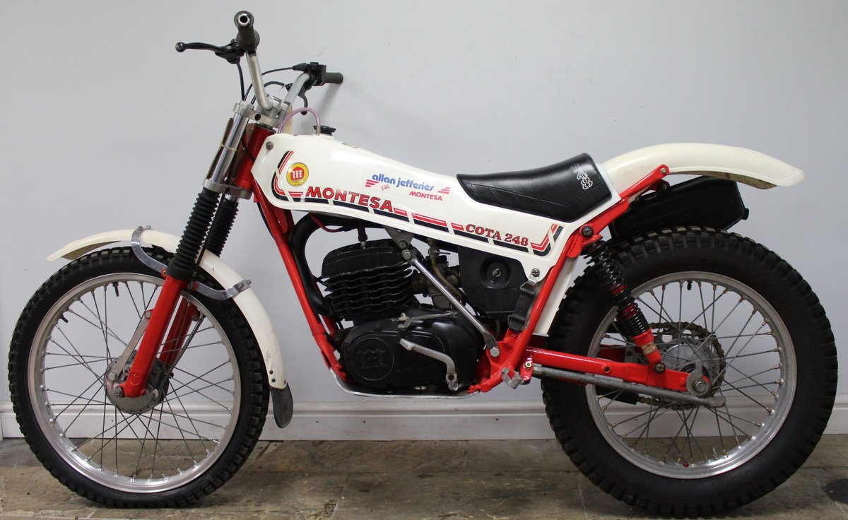 1981 Montesa Cota 248 Twin Shock Trials Bike Excellent  For Sale (picture 4 of 6)