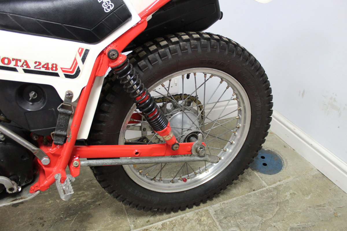 1981 Montesa Cota 248 Twin Shock Trials Bike Excellent  For Sale (picture 5 of 6)