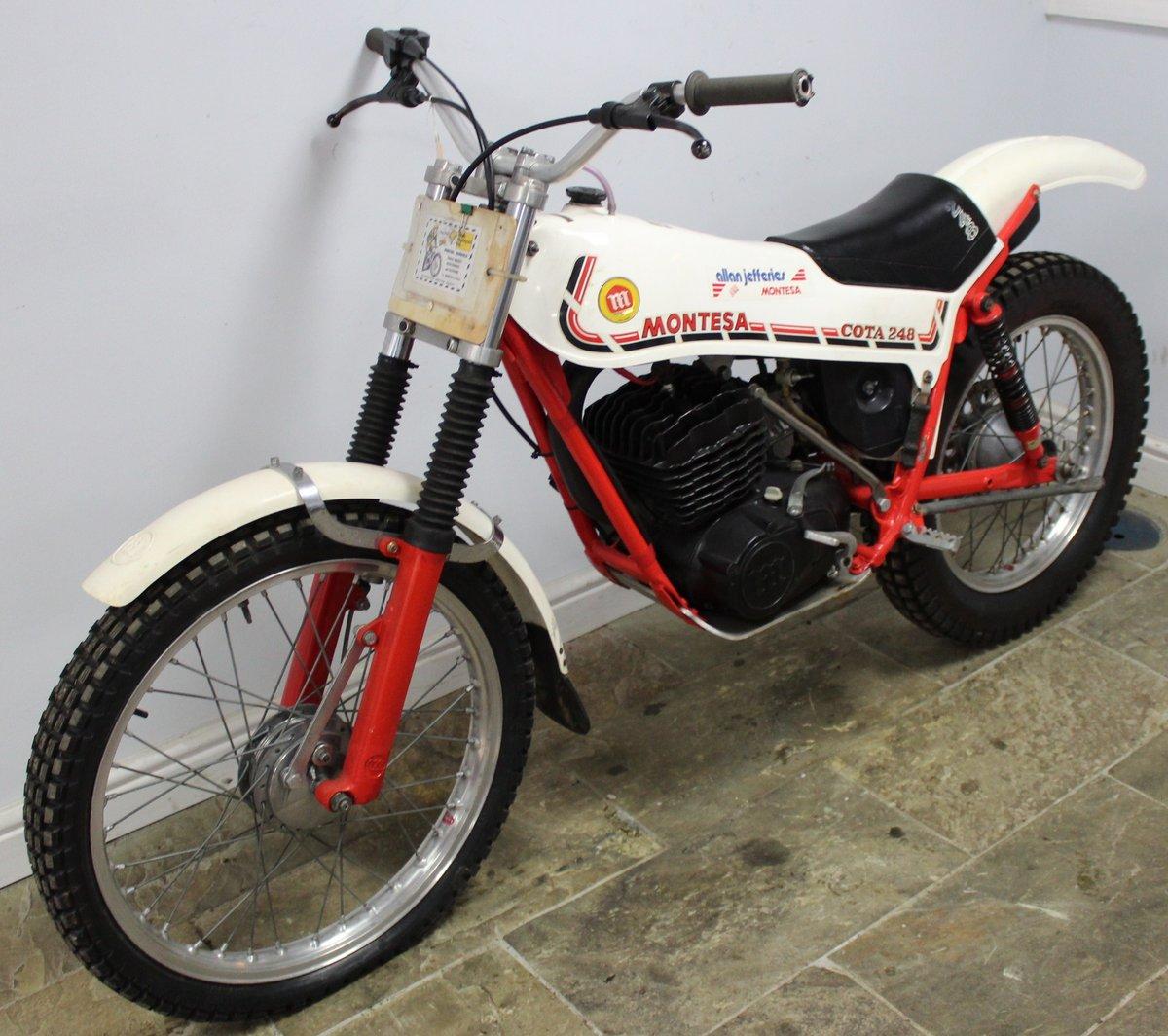 1981 Montesa Cota 248 Twin Shock Trials Bike Excellent  SOLD (picture 6 of 6)