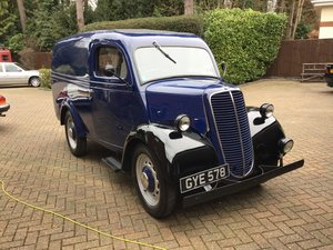 1944 Fordson 10CWT Van For Sale