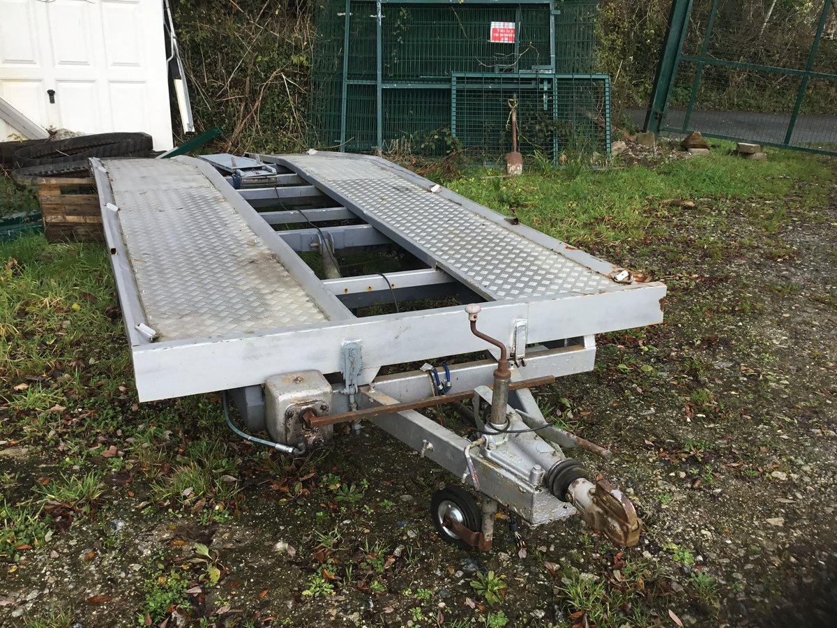 Car trailer four wheel For Sale (picture 1 of 1)