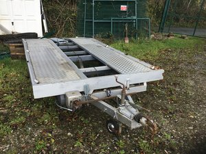 Car trailer four wheel