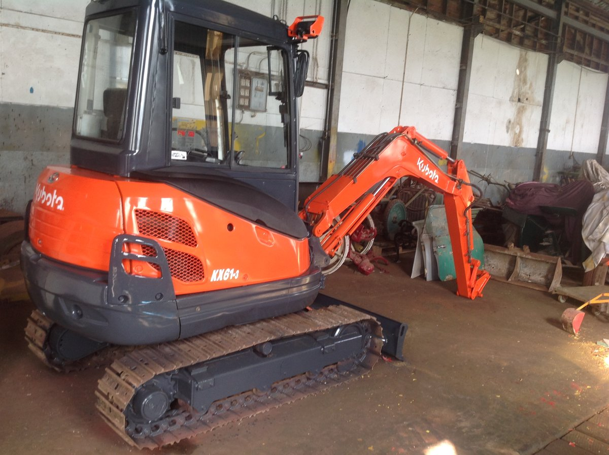 2008 Kubota kx61/3 digger For Sale (picture 1 of 1)
