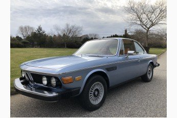 1974 BMW 3.0 CS = 3700 Rally Engine Restored Blue $135k For Sale