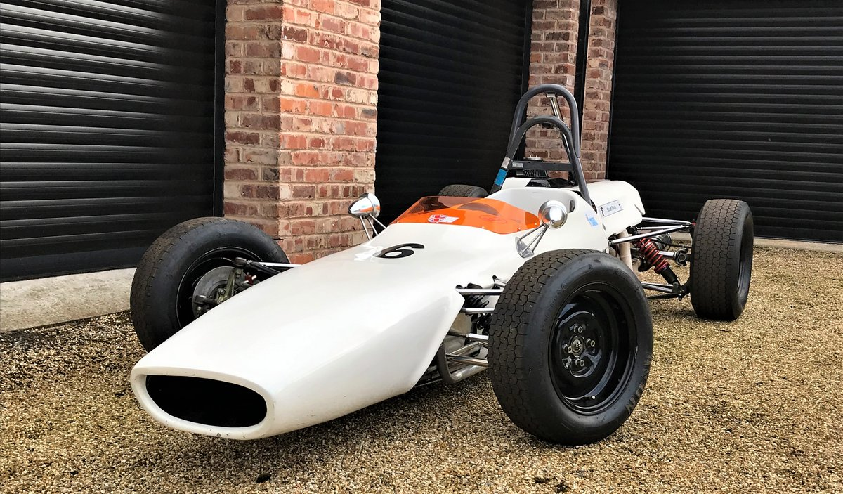 1969 Merlyn Mk 11A Historic FF1600 For Sale (picture 1 of 6)