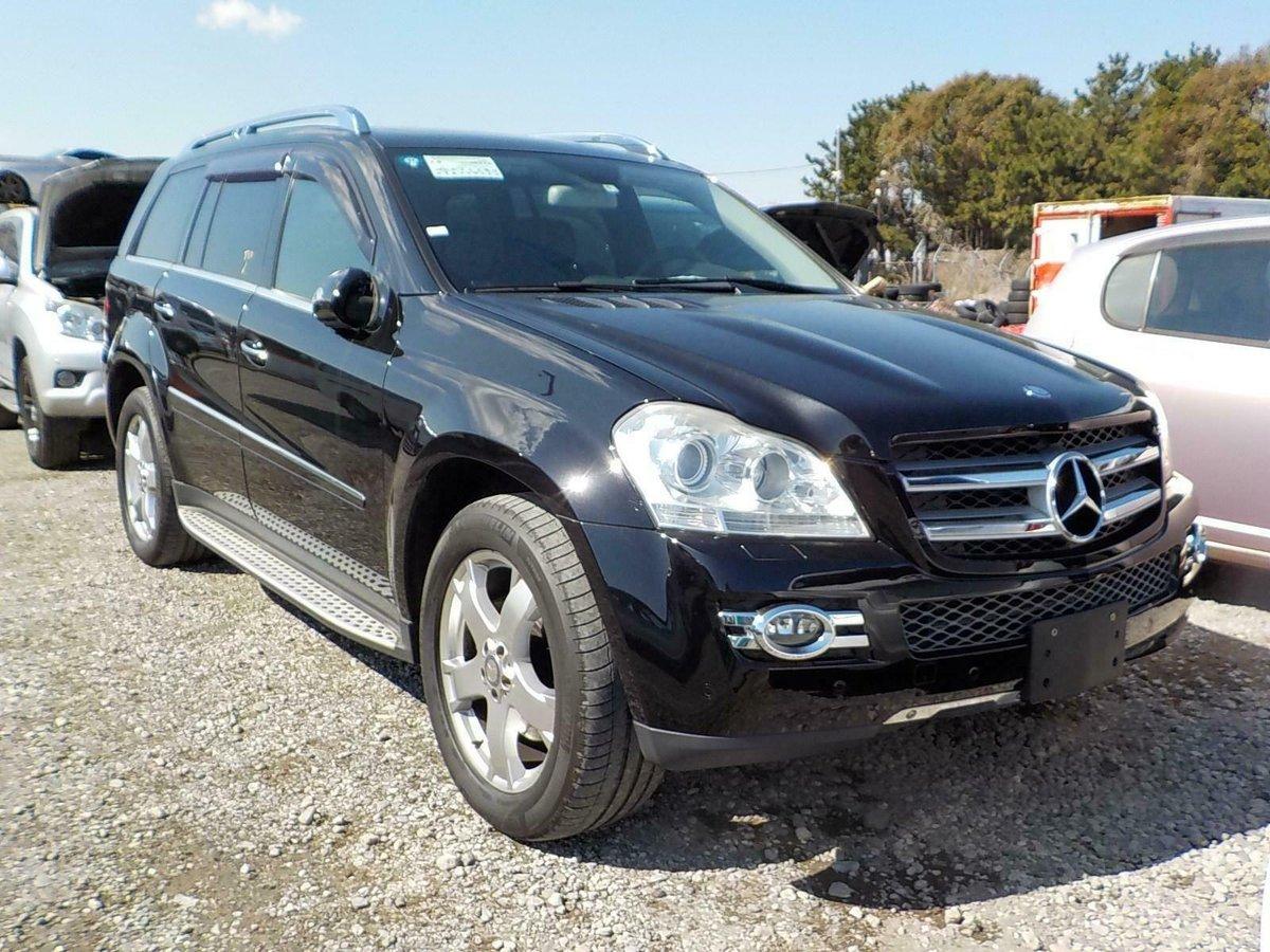 2008 Mercedes-Benz GL500 5.5 auto GL550 7 Seats Black/Black  For Sale (picture 1 of 6)