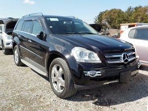 2008 Mercedes-Benz GL500 5.5 auto GL550 7 Seats Black/Black  For Sale