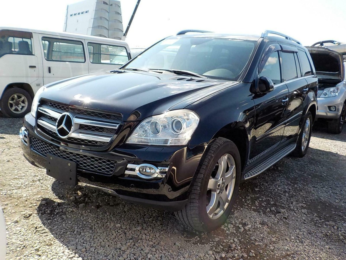 2008 Mercedes-Benz GL500 5.5 auto GL550 7 Seats Black/Black  For Sale (picture 2 of 6)