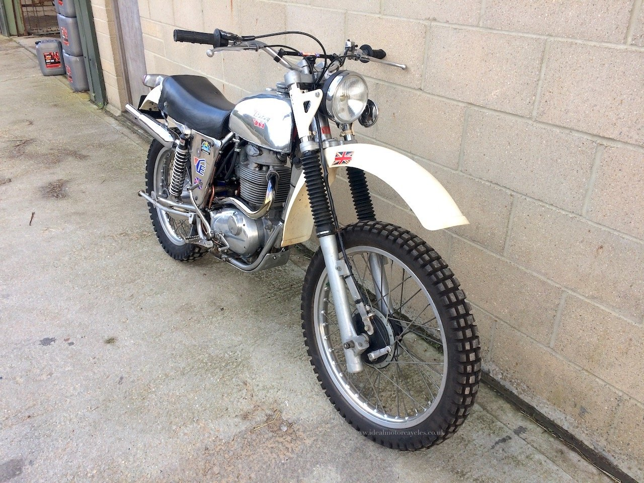 1968 Cheney BSA 441 Victor Enduro SOLD (picture 2 of 6)