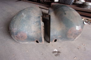 1937 LaSalle Coupe Front Fenders For Sale