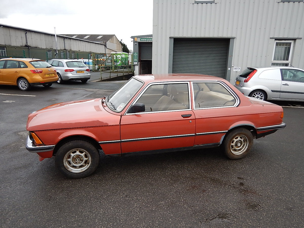1982 BMW 316 E21 Two Door Saloon ~ Genuine Barn Find SOLD (picture 1 of 6)