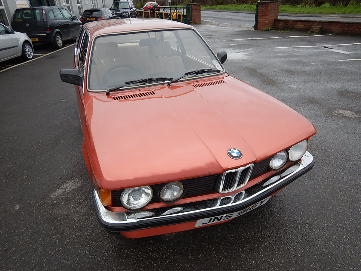 1982 BMW 316 E21 Two Door Saloon ~ Genuine Barn Find SOLD (picture 2 of 6)