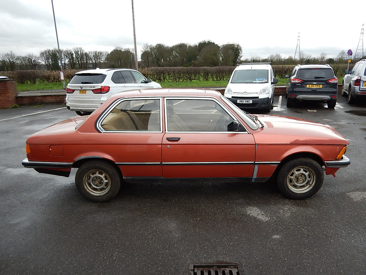 1982 BMW 316 E21 Two Door Saloon ~ Genuine Barn Find SOLD (picture 3 of 6)