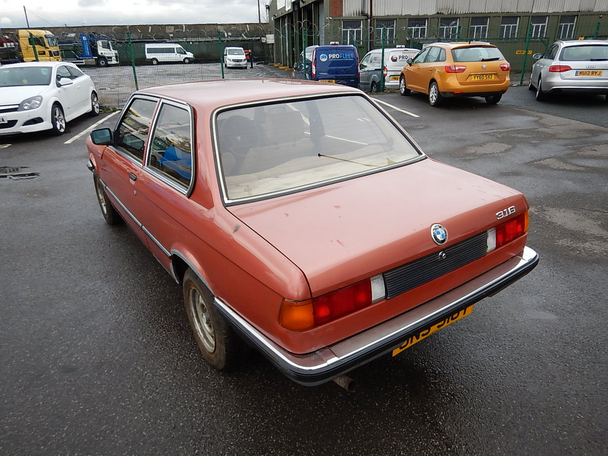 1982 BMW 316 E21 Two Door Saloon ~ Genuine Barn Find SOLD (picture 4 of 6)