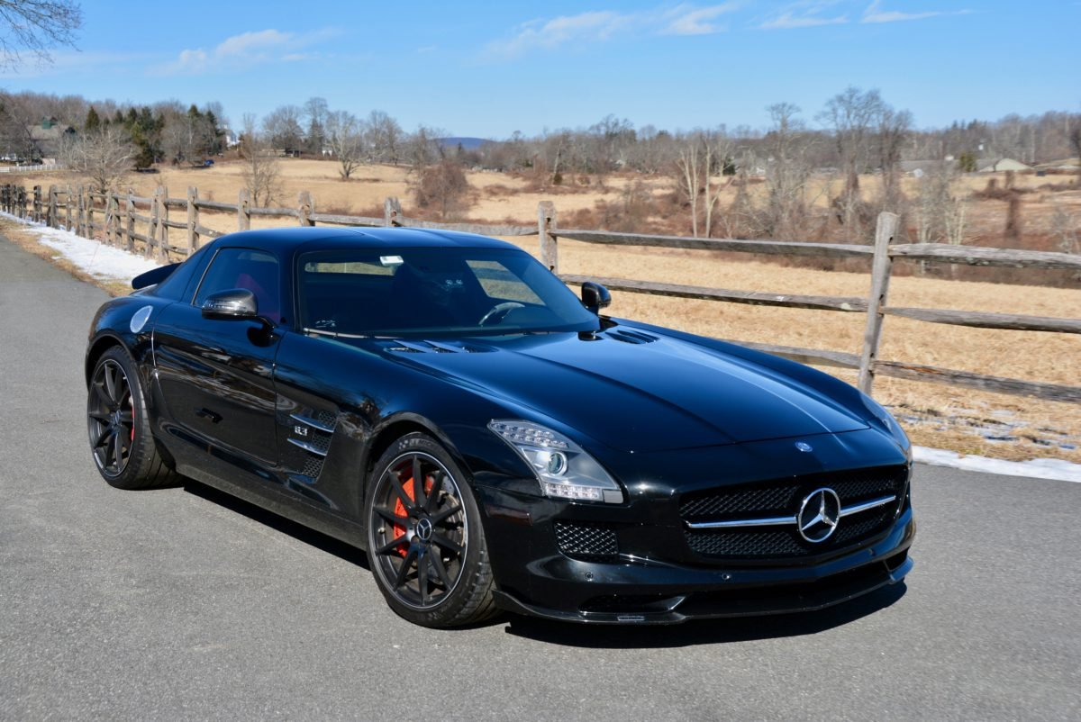 2012 Mercedes Benz SLS AMG Coupe = Black 23k miles $169.9k For Sale (picture 2 of 6)
