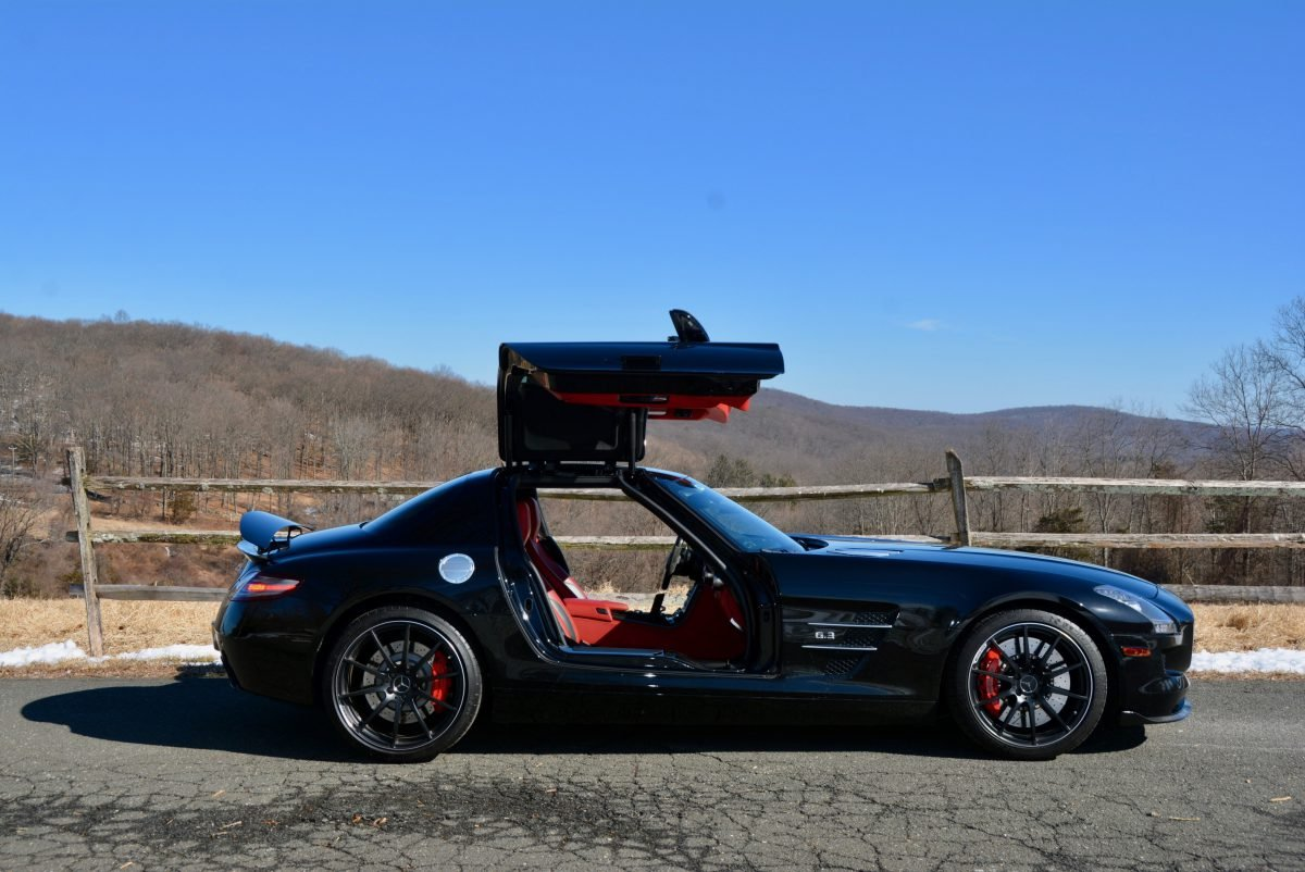 2012 Mercedes Benz SLS AMG Coupe = Black 23k miles $169.9k For Sale (picture 3 of 6)