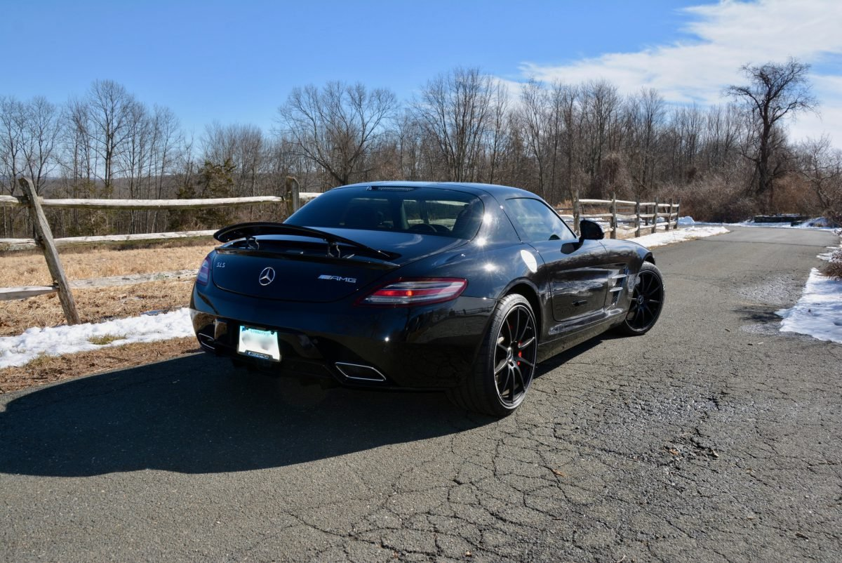 2012 Mercedes Benz SLS AMG Coupe = Black 23k miles $169.9k For Sale (picture 4 of 6)
